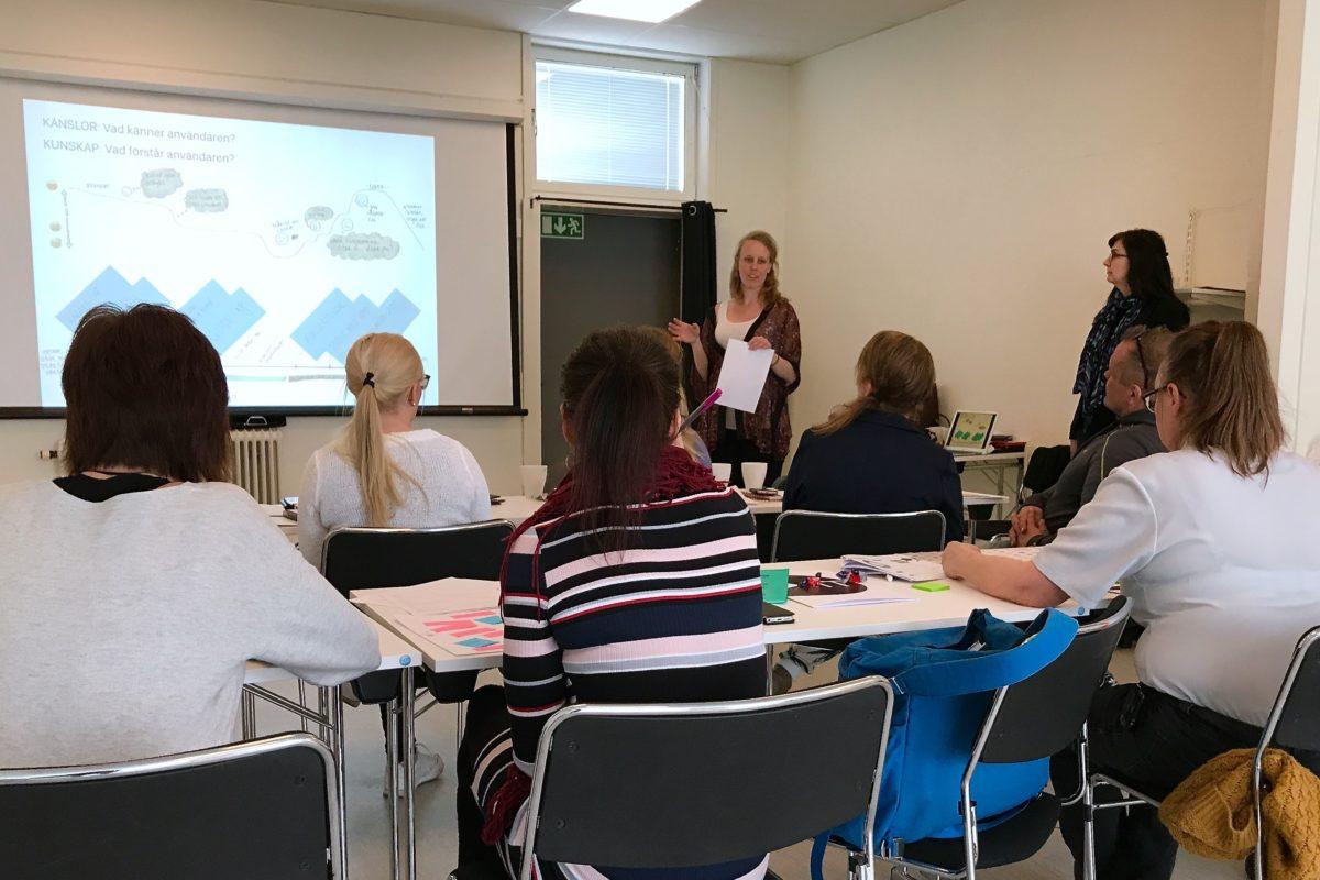 Workshop om användarens upplevelse engagerade företag i Gällivare