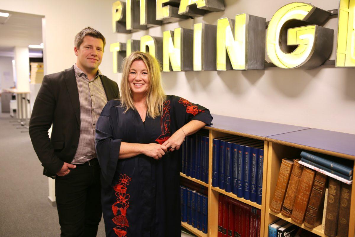 RISE och Piteå-Tidningen samarbetar för att skapa snackisar kring nyheter i skolan