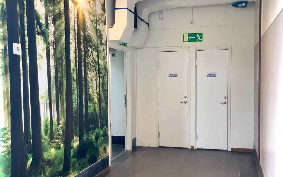 RISE testar lösning för tryggare skoltoaletter tillsammans med arkitektbyrå