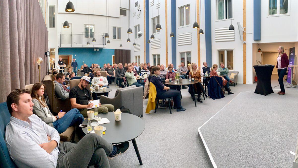 Välbesökt lunchseminarium med Volvo Cars vid Luleå Science Park
